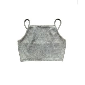 Topshop Tops - TOPSHOP RIB KNIT CROP TOP